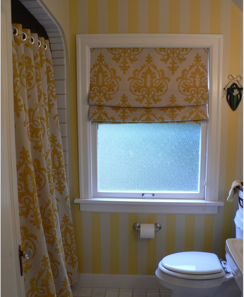 Curtains for small bathroom window