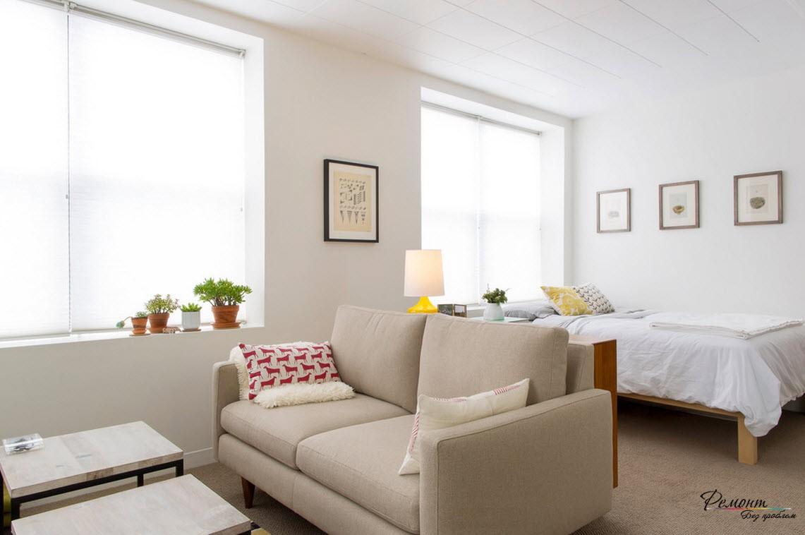 Интерьер однокомнатной квартиры 21 кв.м фото