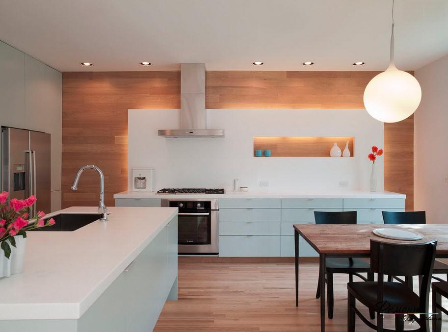 ниши на кухне фото