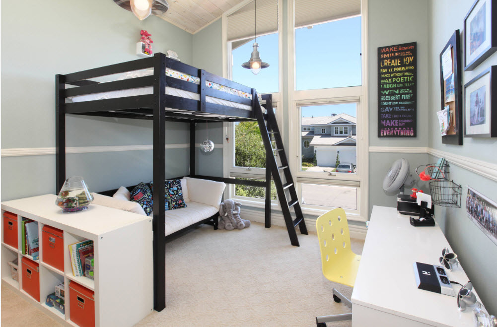 The Best 41 Full Loft Bed with Desk Plans Free Download